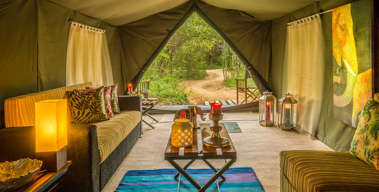 Mahoora tented safari camps Sri Lanka, best camping experience ever